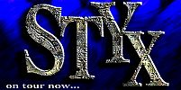 STYX on tour now...